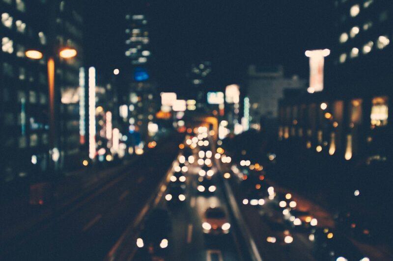 авто, місто, трафік, затор