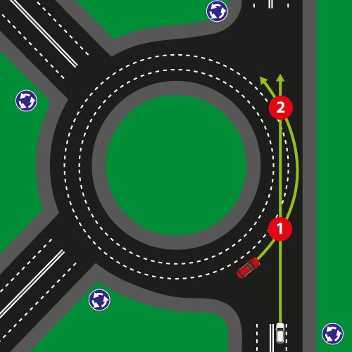 Перехрестя з круговим рухом 2